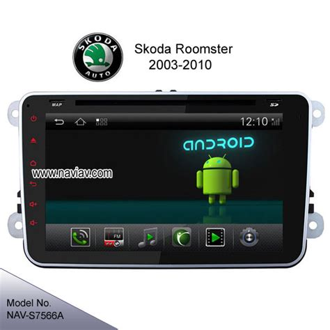 android 4 2 skoda roomster 8inch multimedia car pc gps