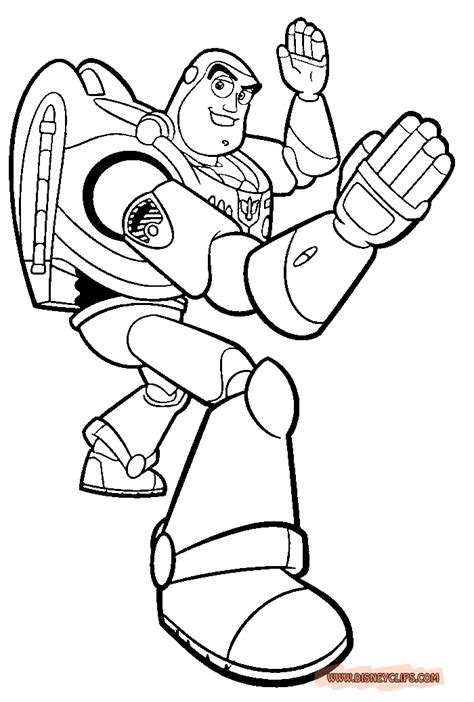buzz lightyear printables coloring home