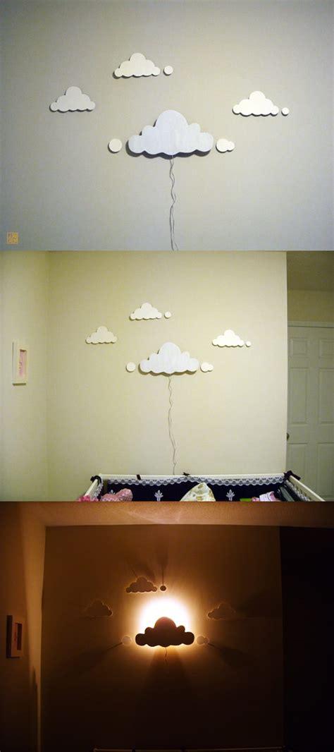easy diy night light diy clouds night light