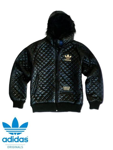 s adidas originals chile 62 quilted bomber jacket