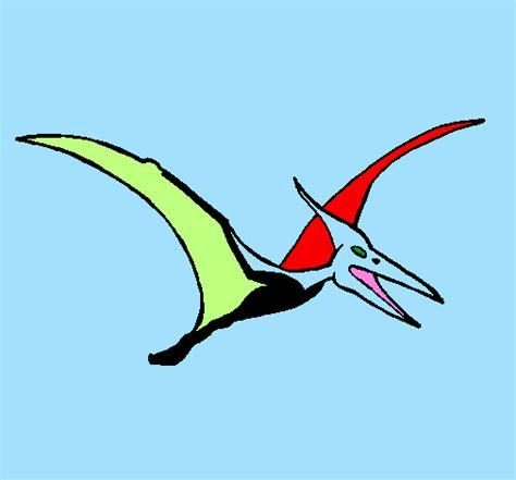 dinosauro volante disegno pterodattilo colorato da utente non registrato il