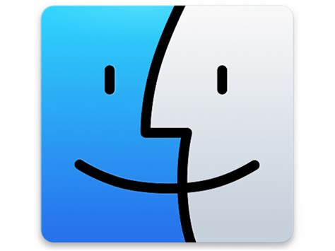Find App Apple Os X Yosemite Finder Replacement Icon Sketch Freebie Free Resource