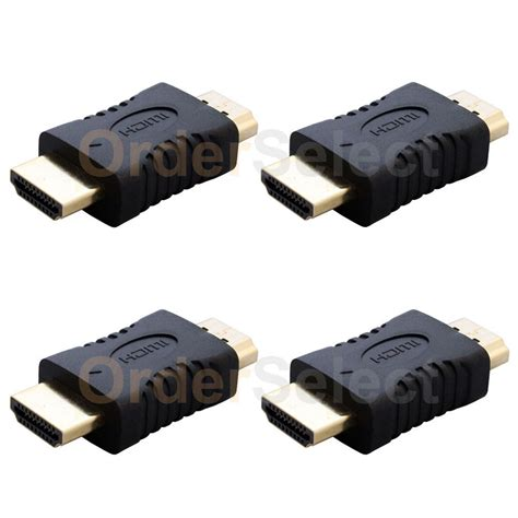 Adaptor Tv Lg 22 In 4 hdmi cable 1 quot inch gold 24k adapter for vizio lg sony samsung led lcd tv usa ebay