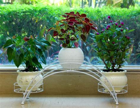 Living Room Flower Pot Continental Iron Flower Spider Flower Pots Shelf Baskets