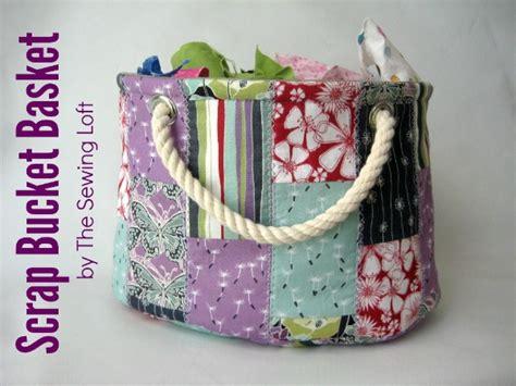 pattern fabric bucket stackable scrap bucket pattern the sewing loft