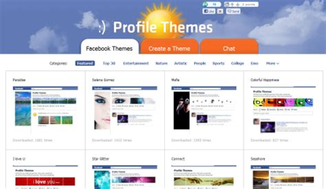 themes in facebook profile ว ธ การแต ง profile themes facebook thasnai