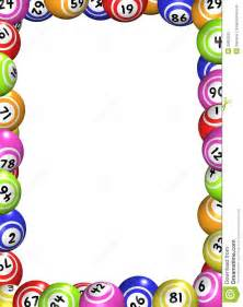 het kader van de ballen van bingo royalty vrije stock foto