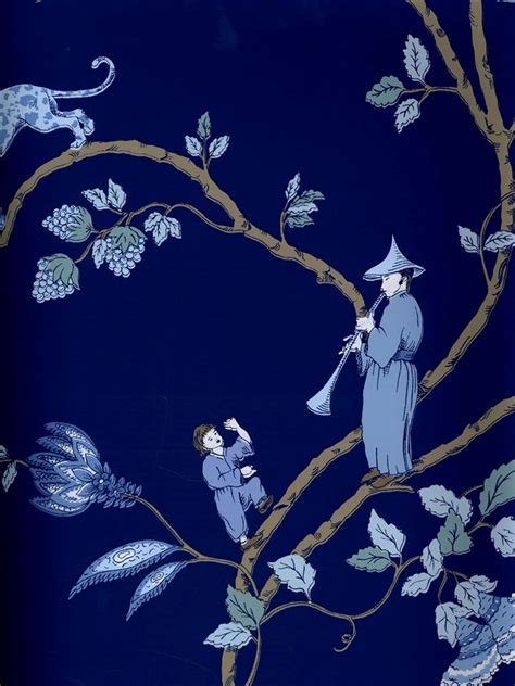 chinoiserie wallpaper uk blue pin by wandershopper sarah shaw on indigo obessions