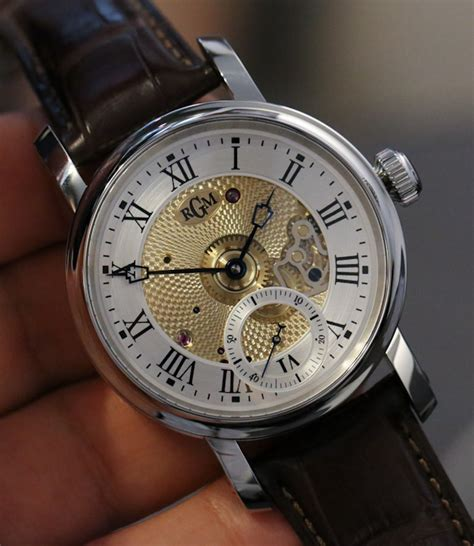 on with some rgm caliber 801 american made watches