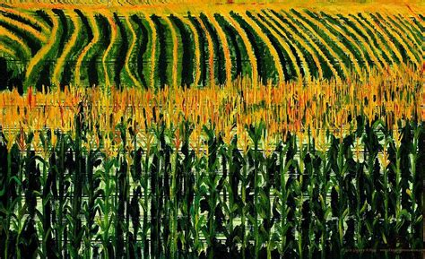 cuisine casher definition crop corn painting by gregory allen page