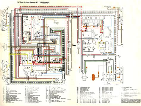 7 best images of 1972 beetle wiring diagram vw
