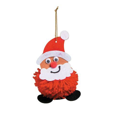 Mardi Gras Home Decor pom pom santa ornament craft kit ornament crafts adult