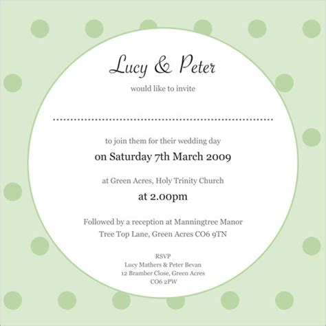 inside wording of wedding invitations the polka wedding stationery collection by pink polar