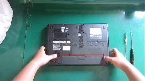 Casing Toshiba L510 Kokoh melepas dan mengganti keyboard toshiba l510 l515