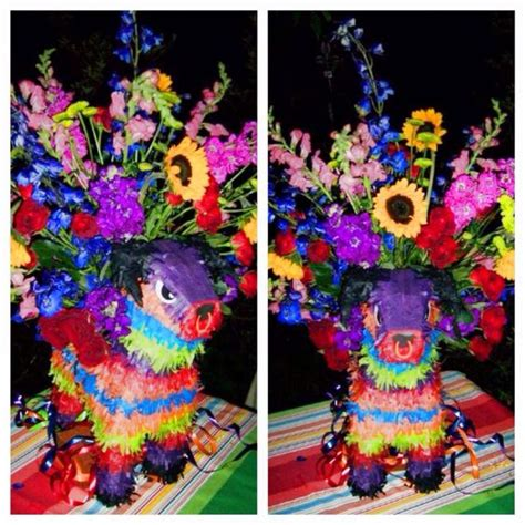 Mexican Decoration Ideas by Great Mexican Theme Centerpieces Made With Pi 241 Atas By