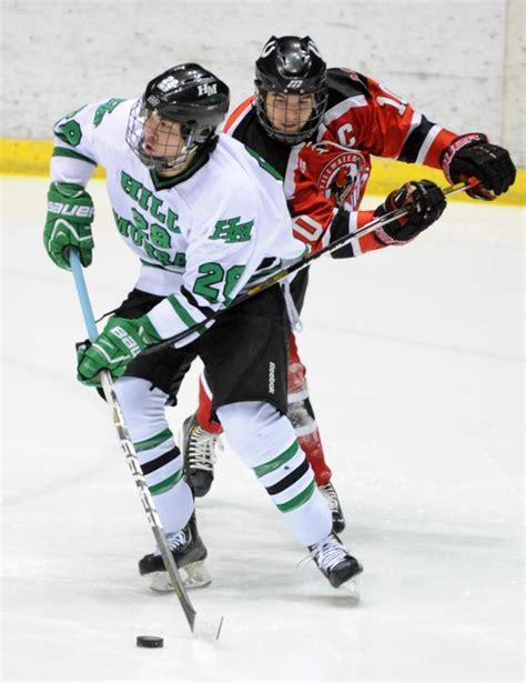 players bench murray stillwater vs hill murray photos mn boys hockey hub