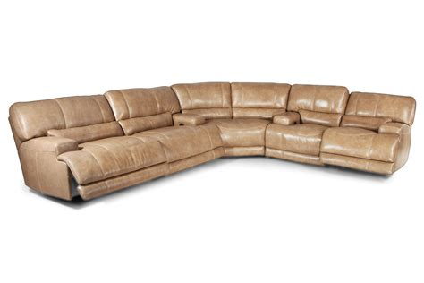 hamlin 3 power reclining leather sectional