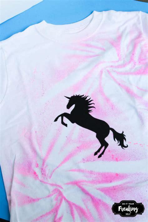 spray paint unicorn do it your freaking self diy unicorn spray paint shirt