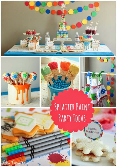 Paint Splatter Decorations by Splatter Paint And Ideas