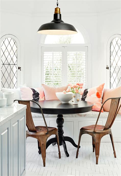 banquette pillows dining in comfort with kitchen banquettes