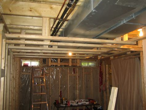 Open basement ceiling ideas Basement Gallery