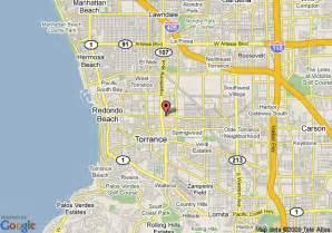 map of torrance california howard johnson torrance torrance deals see hotel photos