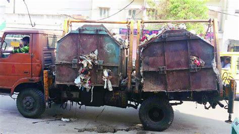 Drove The Garbage Truck garbage trucks trash hyderabad