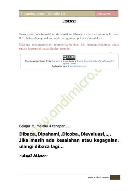 membuat web e learning dengan moodle elearning dengan moodle 1 9 revisi 2012