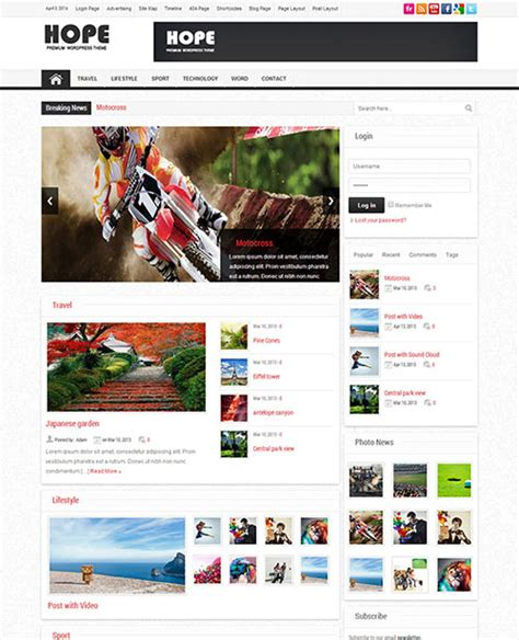 themes in new hope 55 awesome wordpress themes you could buy today