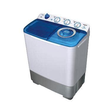 Mesin Cuci Sanken Aw805 jual sanken tw 882 mesin cuci 2 tabung transparan 7kg