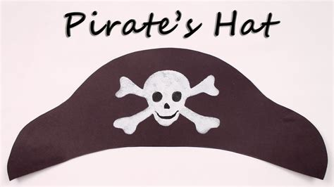 How To Make A Pirate Hat Out Of Construction Paper - how to make a pirate hat