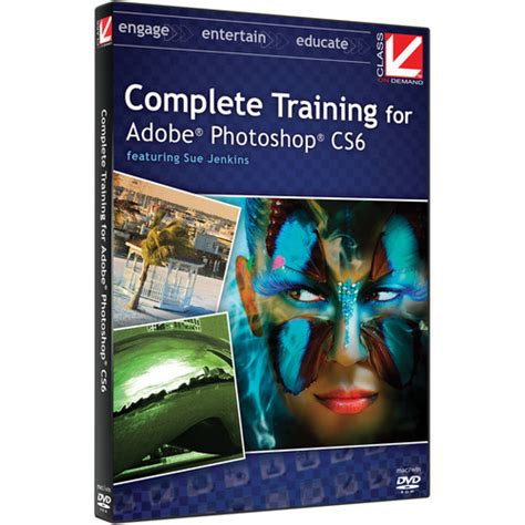 online tutorial of adobe photoshop class on demand video download complete training 99935 b h