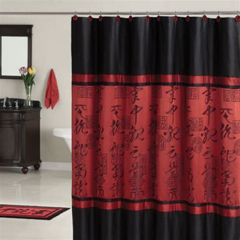 oriental drapes oriental shower curtain furniture ideas deltaangelgroup