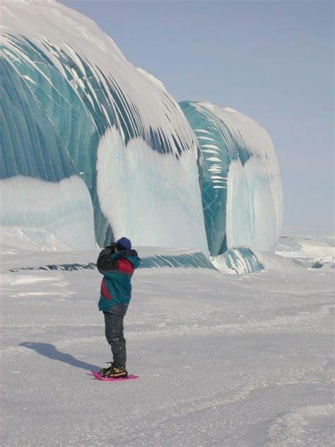 frozen waves les vagues g 233 antes de l antarctique les immenses vagues
