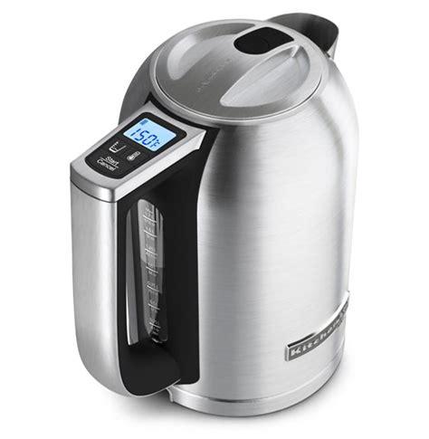 kitchenaid kek1722sx electric kettle cooking gizmos