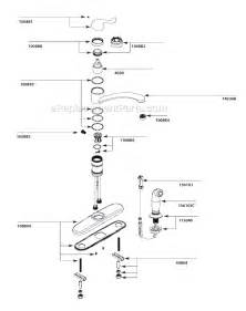 moen kitchen faucets parts diagram gallery for gt moen kitchen faucet diagram