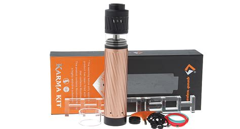 Karma Kit Mechanical By Geekvape 37 17 authentic geekvape karma 18650 mechanical mod kit