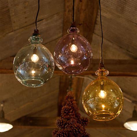 Glass Jug Pendant Light Glass Jug Pendant Contemporary Pendant Lighting By Terrain