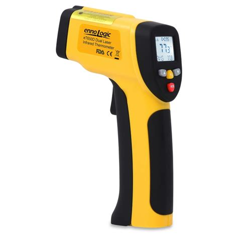 Termometer Infrared temperature gun et650d dual laser infrared thermometer 58 to 1202 176 f ennologic
