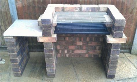 how to build a backyard bbq build a brick barbecue for your backyard diy projects