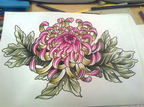 chrysanthemum flower tattoo japan chrysanthemum design search chrysanthemum