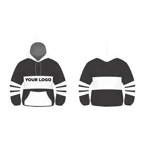 sweatshirt template illustrator black and white hoodie design vector template free by