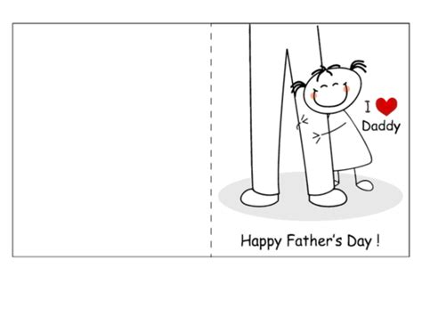happy fathers day cards templates s day card from 1 kidspressmagazine