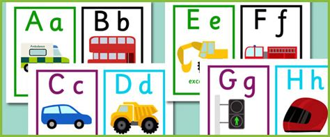 Lettering Stickers For Walls road transport alphabet cards free early years amp primary