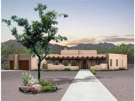 eplans adobe house plan desert retreat 2015 square