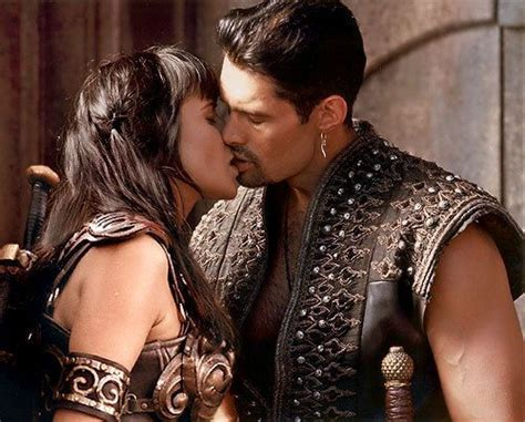 lucy lawless on kevin smith s death kiss lucy lawless as xena and kevin smith as ares kevin