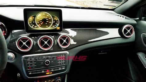 mercedes dashboard carbonwurks custom carbon fibremercedes gla carbon