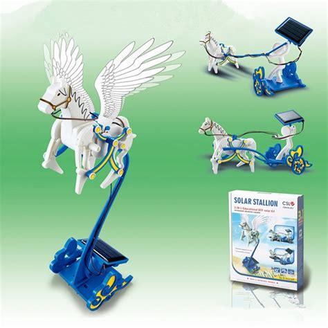 Solar Stallion 3 In 1 Pegasus Robot Kit Diy Kereta Kuda Terbang buy wholesale robot from china robot