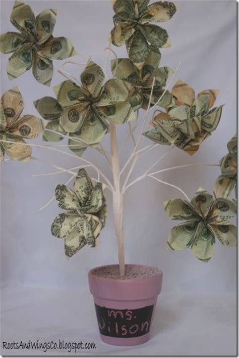 how to make a money tree diy gift ideas money trees money and trees