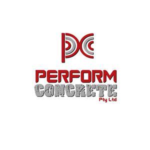 designcrowd pty ltd logo design for perform concrete pty ltd by unicgraphs